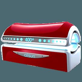 Горизонтальный солярий Alisun серии 400+