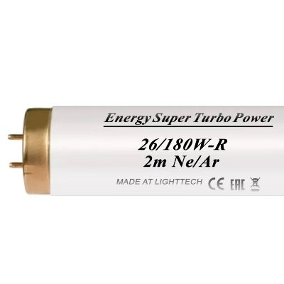 Лампы для солярия Energy Super Turbo Power Ne/Ar 180 W-R LightTech 2 m