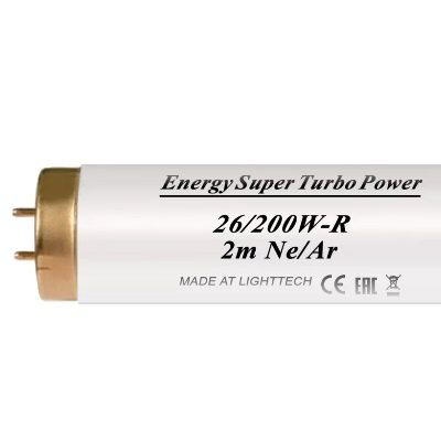 Лампы для солярия Energy Super Turbo Power Ne/Ar 200 W-R LightTech 2 m