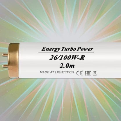 Лампы для солярия LightTech Energy Turbo Power 100 W 2 м