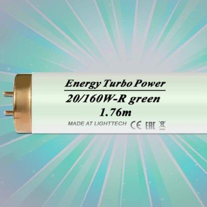 Лампы для солярия цветные Energy Turbo Power 160 W-R LightTech green 1,76 m