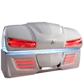 Горизонтальный солярий MegaSun Optima Deluxe