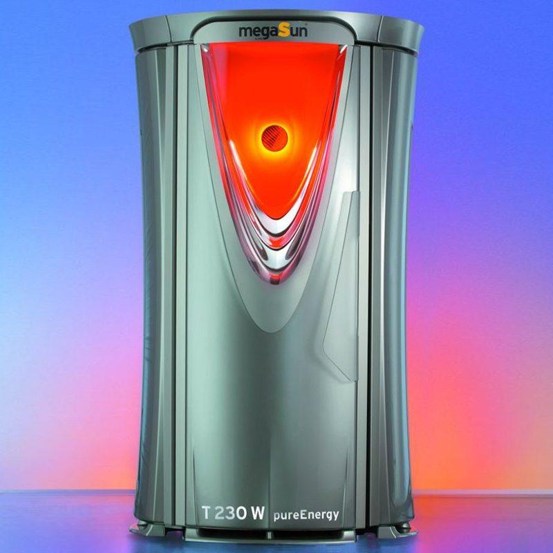 Купить вертикальный солярий MegaSun Tower pureEnergy | Солана
