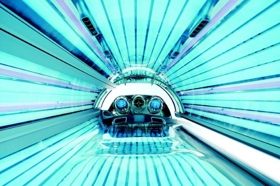 Синие лампы солярия Megasun-6800 Alpha