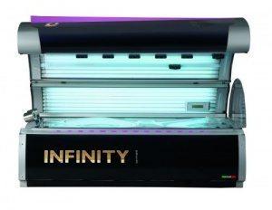 Горизонтальный солярий Q-med Infinity