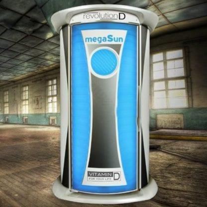 Вертикальный коллариум Megasun revolution D Tower