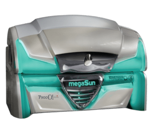 Купить Горизонтальный солярий MegaSun 7900 alpha deluxe. Цена, фото, отзывы | Solana.ru