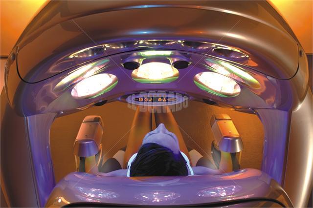 Вертикальный солярий MegaSun Shuttle 360°