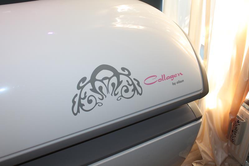 Горизонтальный коллагенарий Alisun Collagen 200