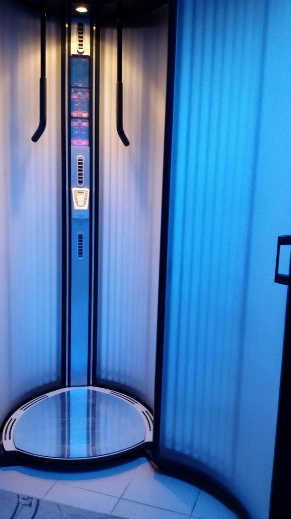 Вертикальный коллариум б/у Alisun Solagen V
