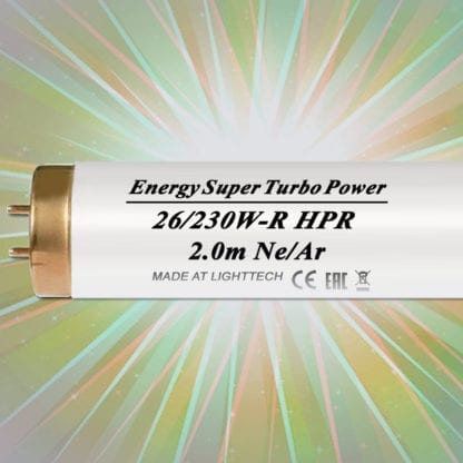 Лампы для солярия LightTech Energy Super Turbo Power Ne/Ar HPR 230 W 2 м