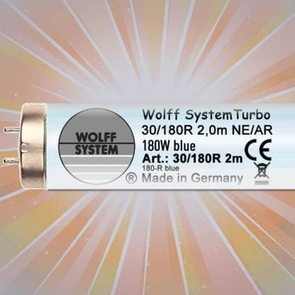 Лампы для тела цветные Wolff System Turbo NE/AR 180 W-R blue 2 m