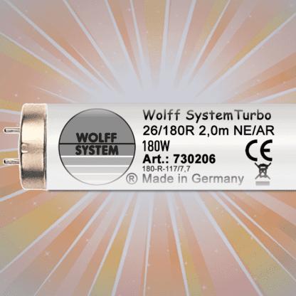 Лампы для тела Wolff System Turbo NE/AR 180 W-R 2 m