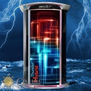 Вертикальный солярий MegaSun Tower Thunder Hybrid