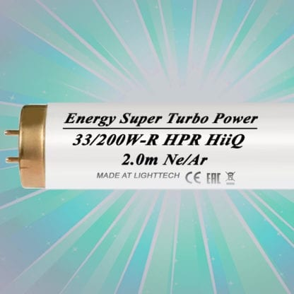 Лампы для солярия HiiQ LightTech Energy Super Turbo Power HPR 200W 2м