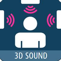 Опция 3D-Sound (звук вокруг)