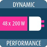 Dynamic Performance 48 ламп 200 Вт
