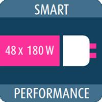 Smart Performance 48 ламп 180 Вт